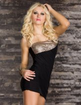 T405-3 one straple sexy clubwear mini dress
