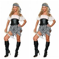 LQZ070 LADY pirate costume