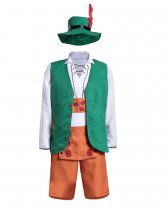 7139 couple Bavarian German Leiderhosen costume