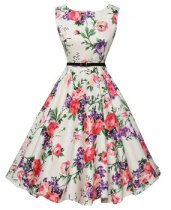 Women Short Cheap 1950s Vintage Pinup Dresses