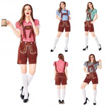 Ecoparty Ladies Large Size Oktoberfest Beer Maid Costume