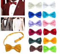 Classic Fashion Novelty Mens Adjustable Tuxedo Bow Tie Necktie Bowtieformal formal necktie boy business wedding Male Dress Shirt