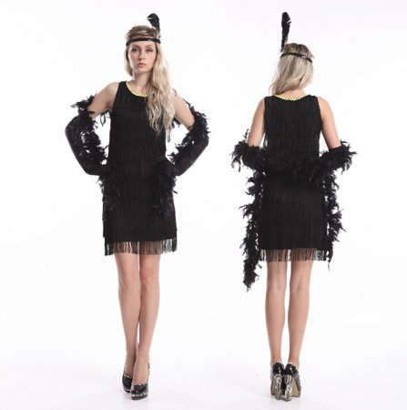 419 1920s  flapper costume S-2XL USD14