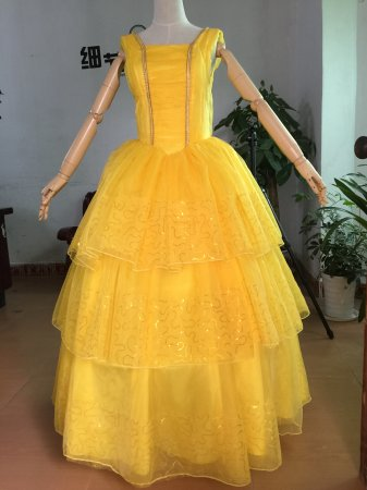 Belle Dress Beauty and the Beast Cosplay costume