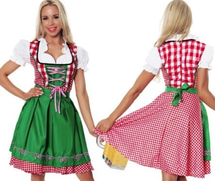 1014 oktoberfest beer girl costume