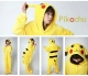 New Pikachu Pajamas Fancy Dress Anime Pokemon Onesie Cosplay Costume