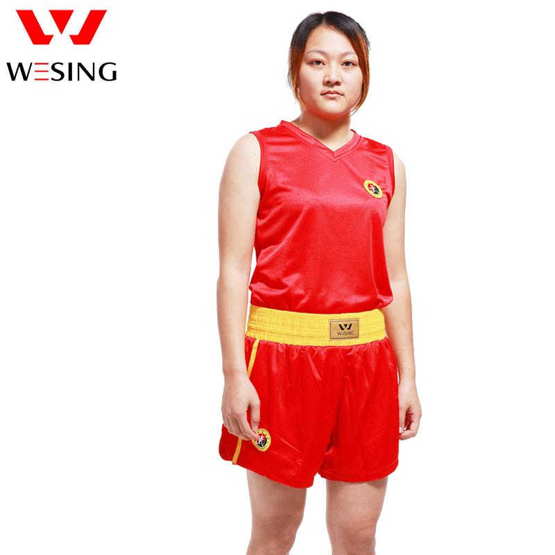 Wesing Female Wushu Sanda Uniform for Training and Competition