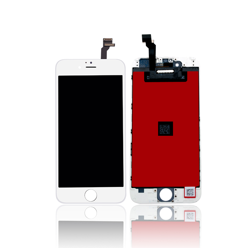 newest 169bb ee2d3 iPhone 6G LCD/Digitizer Assembly White SC