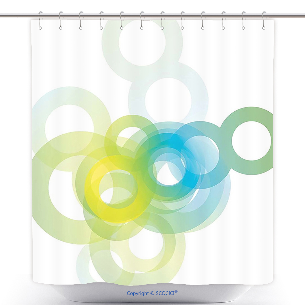 US$ 29.86 - Cool Shower Curtain Abstract Decor Modern Cool Design ...