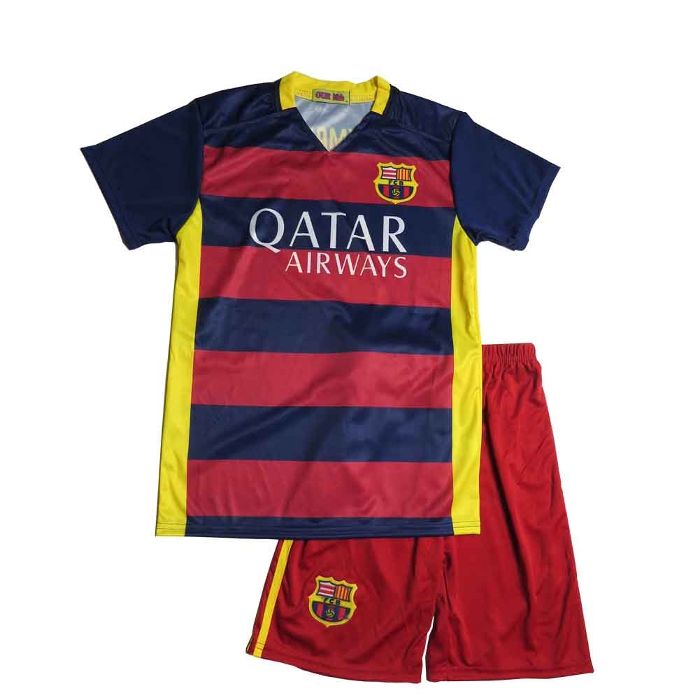 e66f05fdf40 Lenrick Cheap Kids Barcelona Home Soccer Jersey Uniform Neymar JR 11 Kits  Football Tracksuit Item NO  261935