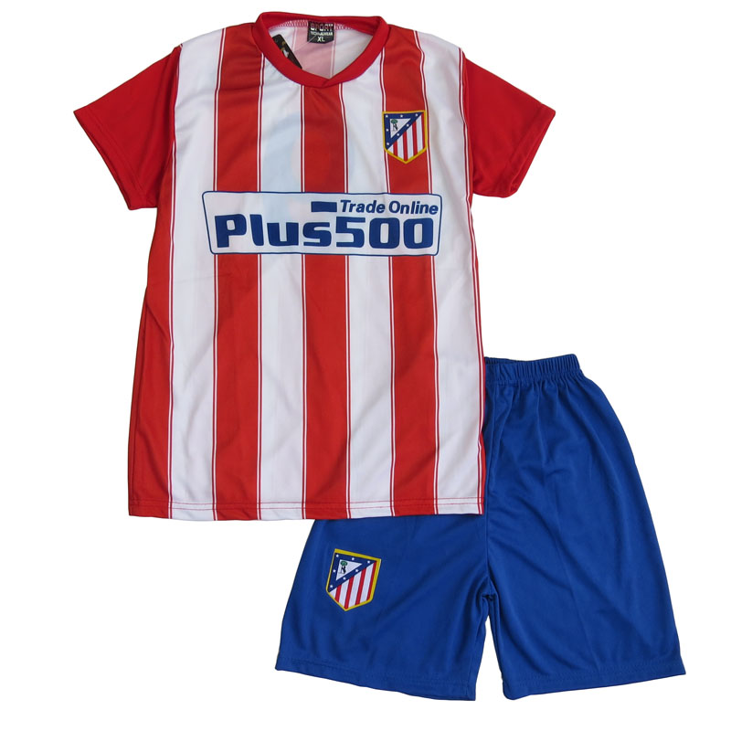 fe9db3d4002 Lenrick Kids Atletico Madrid Home Soccer Jersey Wholesale Item NO: 261164