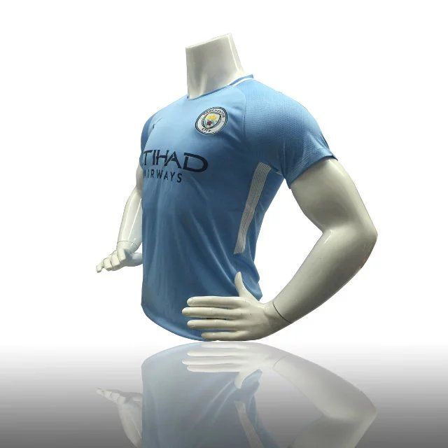 829f139a100 THAI QUALITY MANCHESTER CITY HOME MATCH JERSEY 17 18 - FIELD BLUE MIDNIGHT  NAVY YOUTH SOCCER JERSEY ADULT FOOTBALL KIT MEN TOP SHIRT Item NO  426384