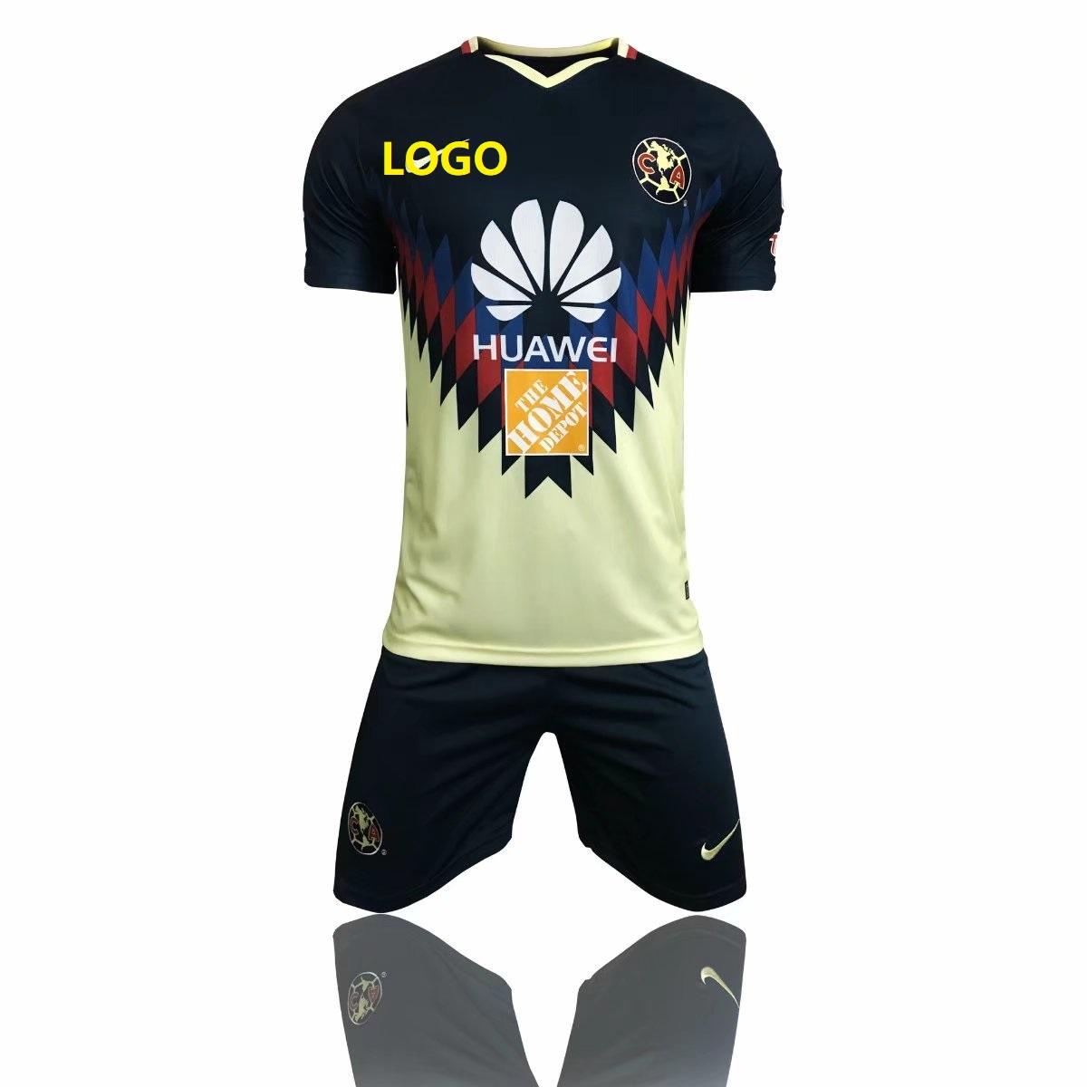 0ec9d6a795f America Aguilas 2017 camiseta de futbol Mexican League soccer jerseys set  thai quality Green 17 18 Mexico american club football shirts Item NO:  439217