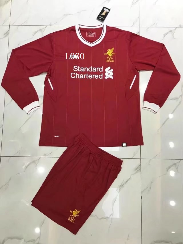 reputable site 4a3ad 68c52 Liverpool Long Sleeve Jersey Uniforms