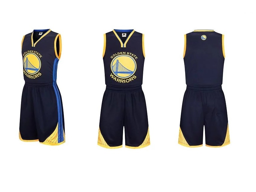 Adult Golden State Warriors Stephen Curry Kits Royal Fast ...