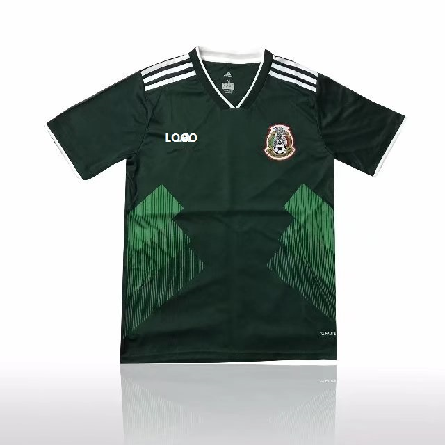 9e04d3ec4e4 Best Sellers  Thai Quality Men Mexico Home Green Fan Version Soccer Jersey  Adult Football Shirt