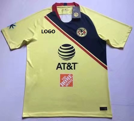 2018 19 Mexico América Home Soccer Jersey Soccer Jersey Uniform Men Football  Shirt XXL Custom Name And Number Item NO  535077 ff499f3ec