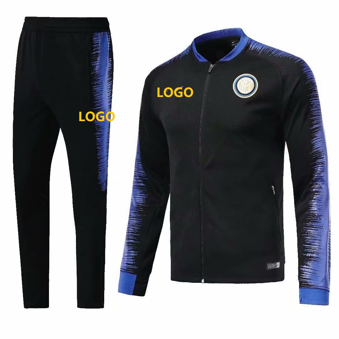 595fc88429 2018/19 Men New York City Soccer Jacket Adult Football Jackets Survêtement  Men Soccer Jacket Mens Football Jacket Coat Tracksuit Sport Training