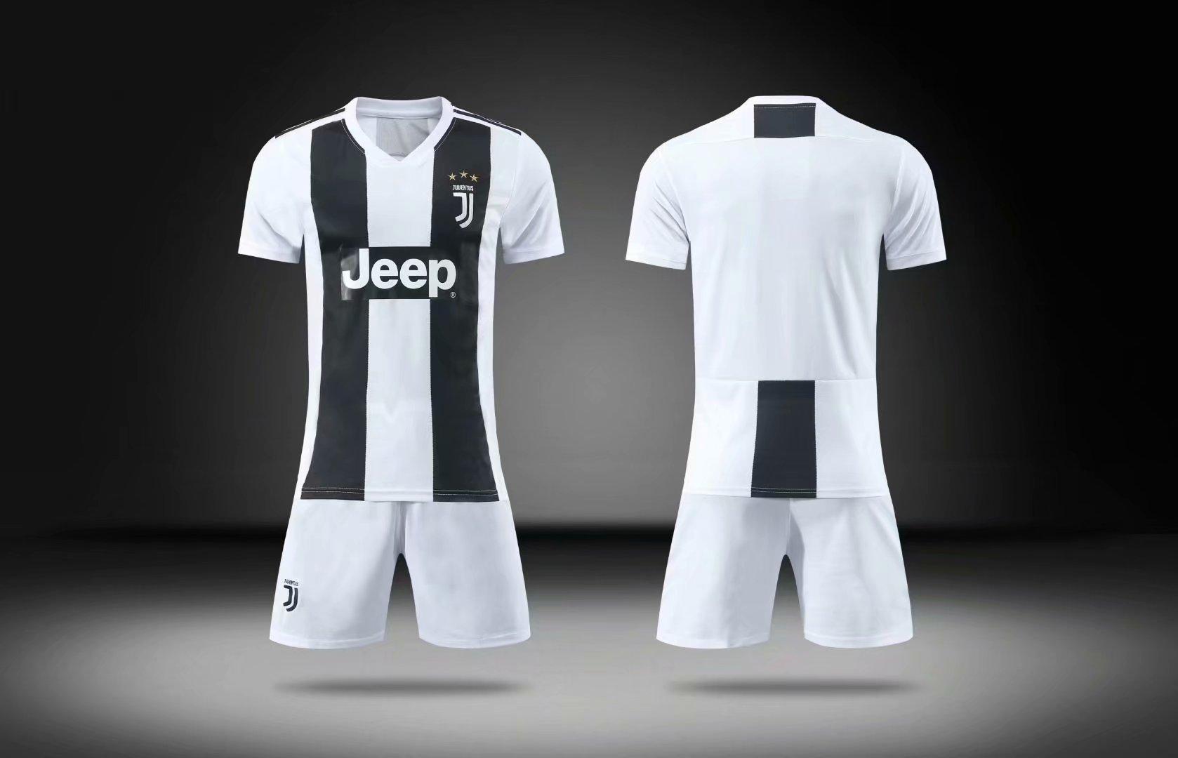 1470df59bde 2018 19 Kids BARCELONA Home Without Brand Logo Soccer Kits Children Football  Uniform