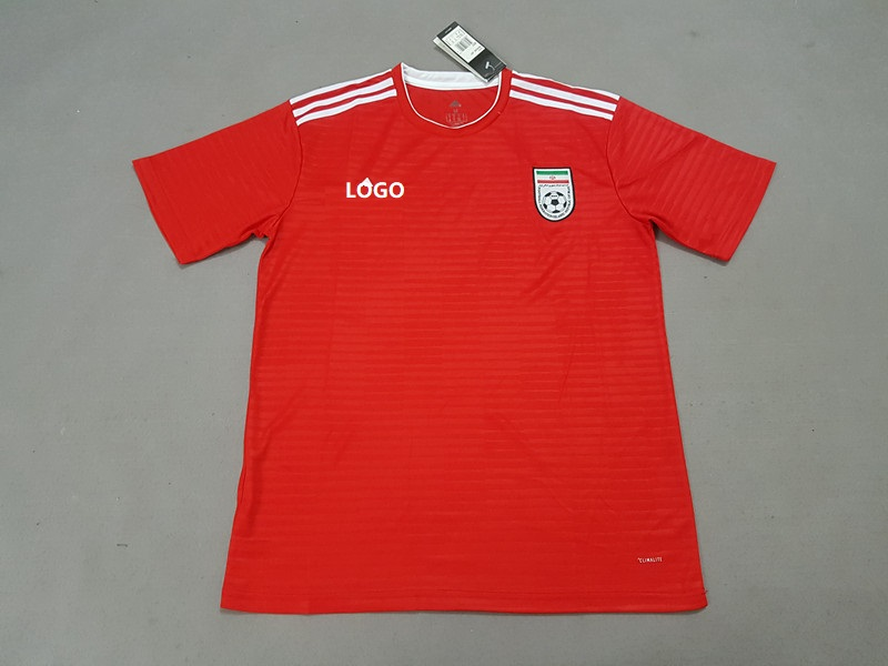 4b71f820f 18-19 Iran Away Red Soccer Jersey -Thai Quality Football Shirt Custom Name  And Number