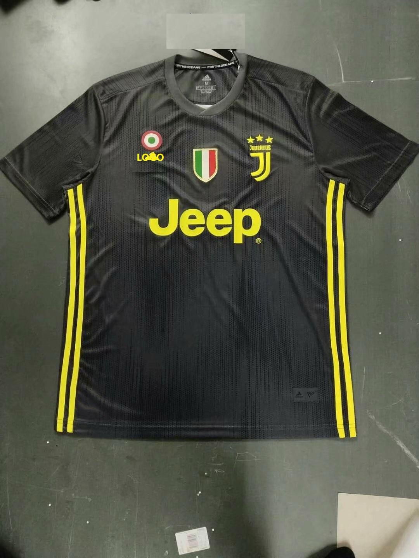 newest cf0b0 2cd86 2018/19 Juventus Away Men Soccer Jersey Thai Quality Shirt