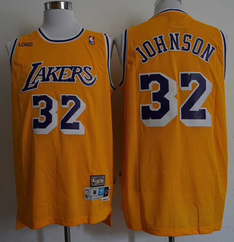 LAKERS 32 Johnson BASKETBALL JERSEY