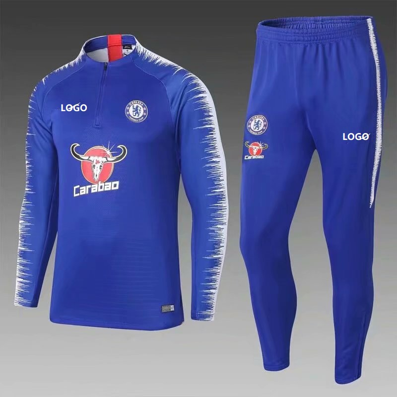 Men Blue Soccer NO Item Training Chelsea Tracksuit 548169 Adult Football 201819 Suit q4d1xnFq