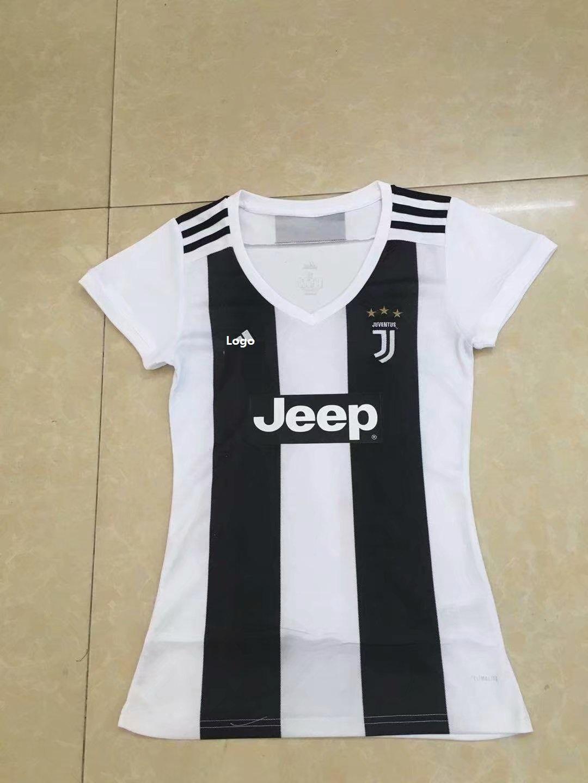 e183e00a8 2018 19 Juventus Women Soccer Jersey Thai Quality Shirt Item NO  558610