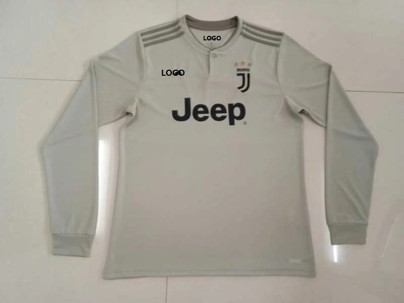 low priced f5014 3b399 2018/19 Thai Quality Men Grey Juventus Away Soccer jersey football shirt