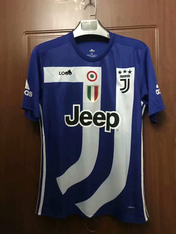 release date: dfb54 ebd38 18/19 Thailand Quality Adult Juventus Blue Soccer Jersey Men Football Kits  Top Shirt Commemorative Version