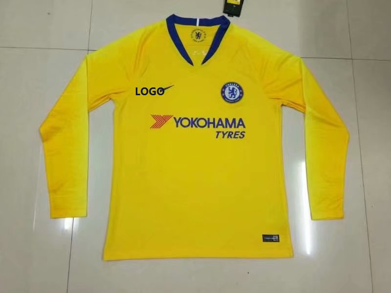 outlet store 4c382 b47eb chelsea long sleeve jersey 2018