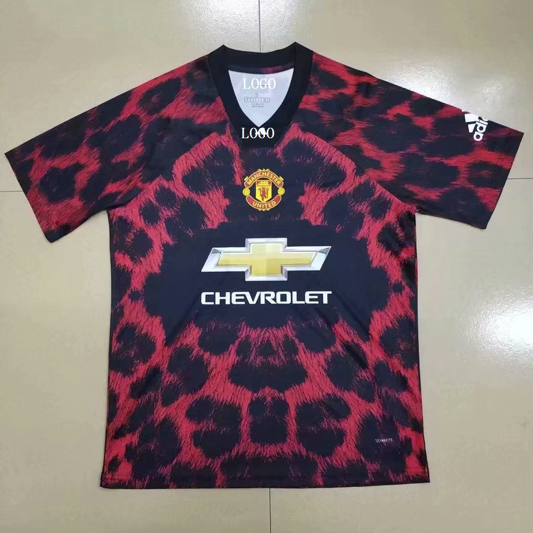 97c9822fe Adult manchester united EA sports red Soccer Jersey Men Football Shirt Item  NO  566289