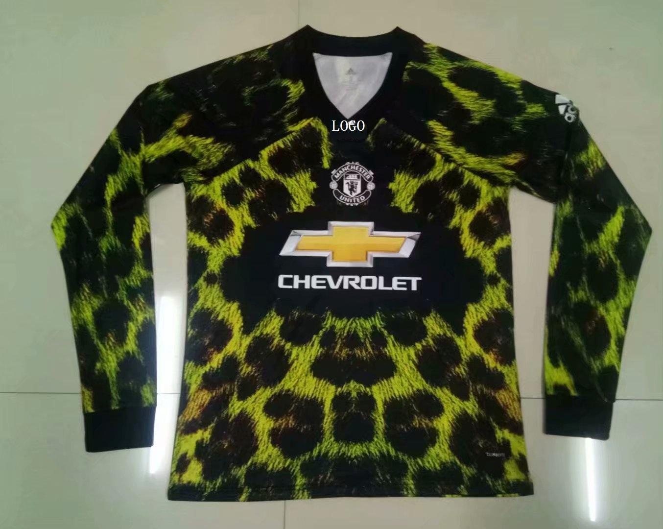 pretty nice e088a 97447 201920 ADULT MANCHESTER UNITED EA SPORTS JERSEY Long sleeve Football Shirt