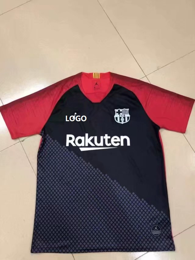 0dc07578d97 19-20 Thai Quality With Logo Adult barcelona jordan Soccer Jersey Men  Football Shirt Item NO  569915