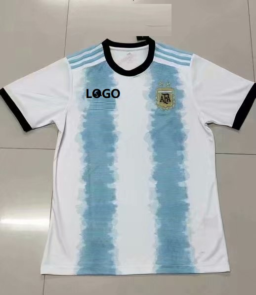 bfe9e29771f 18-19 Thai Quality With Logo Adult argentina copa america home soccer  jersey Item NO  569912