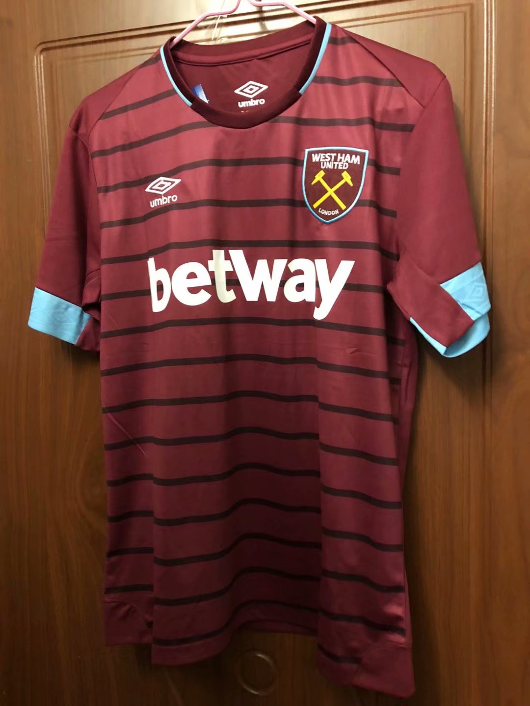 21384e1149a1 18-19 West ham Home Soccer Jersey -Thai Quality Football Shirt Customize  Name Number
