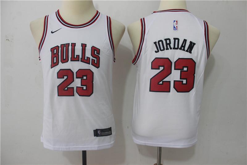 quality design 68a41 6b830 kids chicargo bulls 23 basketball jersey jordan shirt
