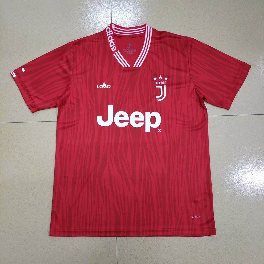3f4cf775527 19-20 Juventus Special Red Thai Quality Soccer Jersey Item NO: 573358