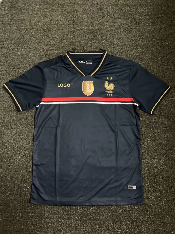 19-20 France Saintetixx Dark Blue Thai Quality Soccer Jersey