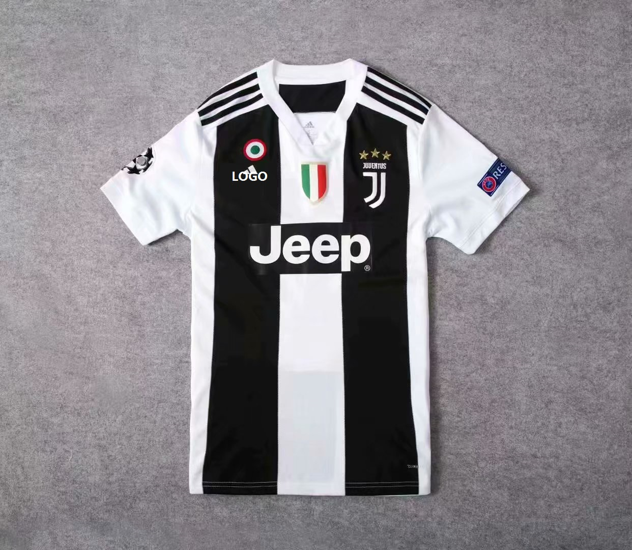 best sneakers 8d59c 641fc 19-20 Adult Juventus Home Thai Quality Soccer Jersey Men Football Shirt