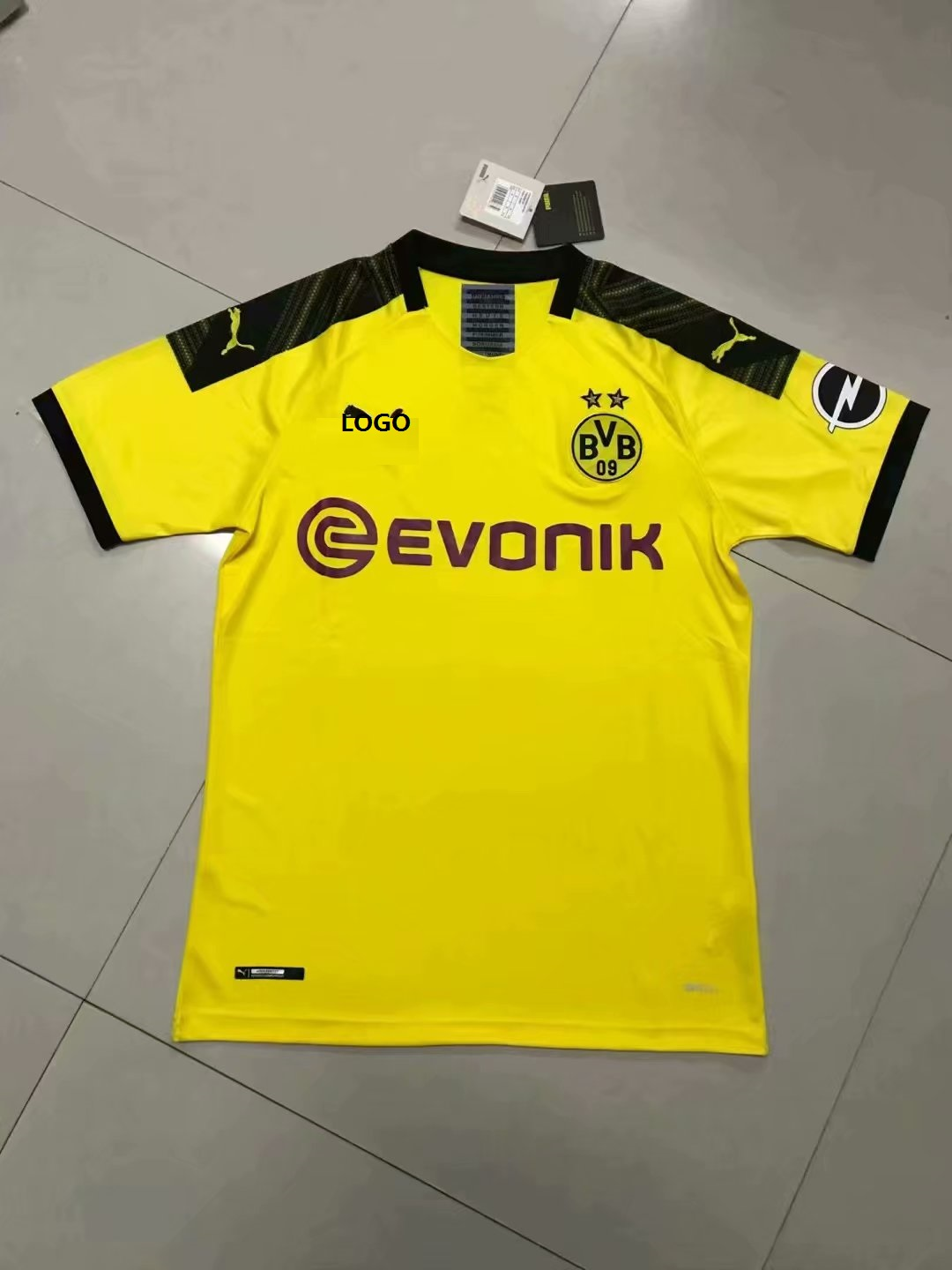 big sale 0192c a6193 2019-20 Men Dortmund Yellow Soccer Jersey Football Shirt