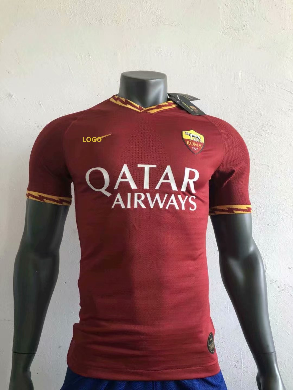online store 9761f d2f6b 2019-20 Player Version Roma Home Football Shirt Soccer Jerseys