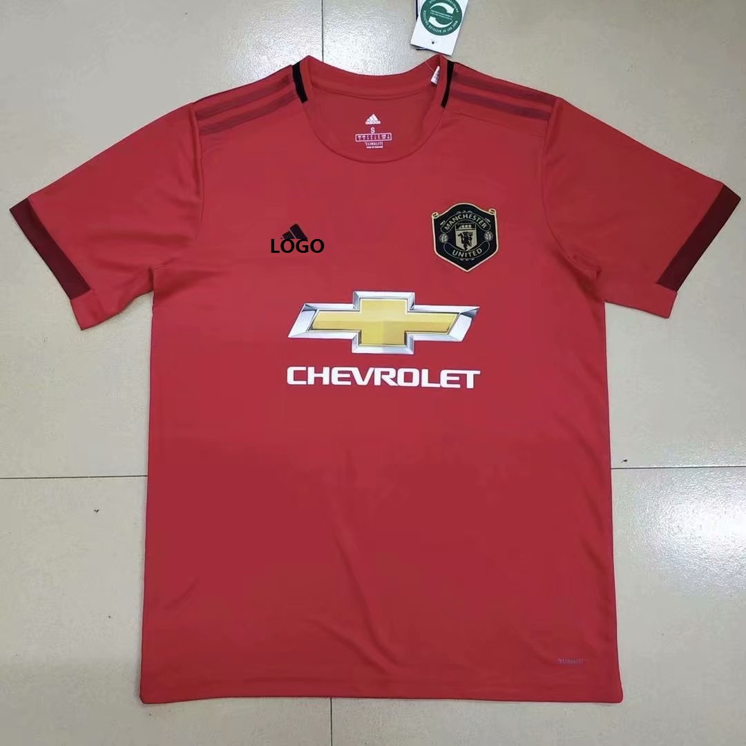 764a9a8d049 2019-20 Men Manchester United Home Soccer Jersey Football Shirt
