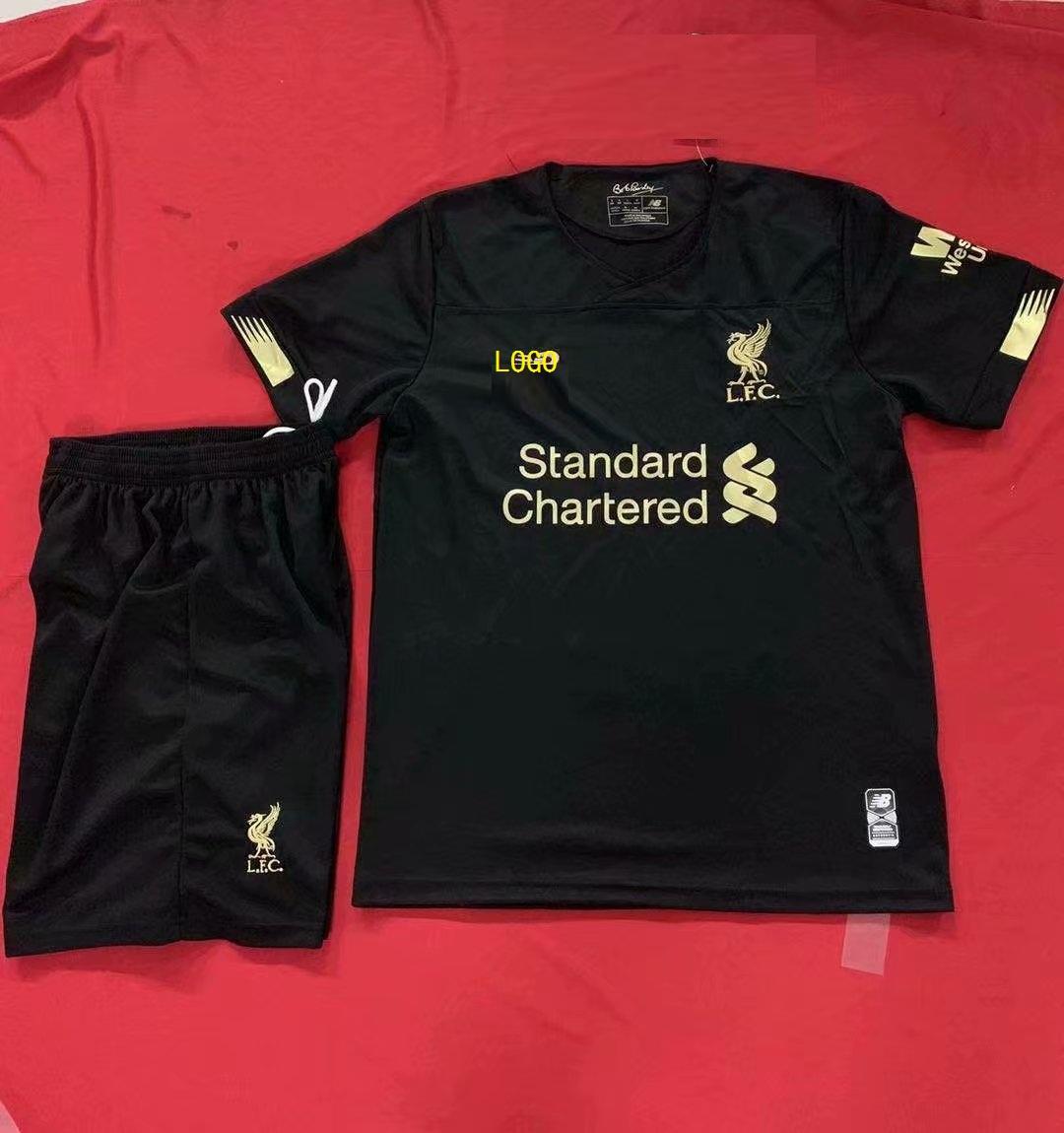 outlet store 688ba 22218 2019/20 Cheap Adult Liverpool Goalkeeper Soccer Jersey Uniform Football  Complete Sets GK