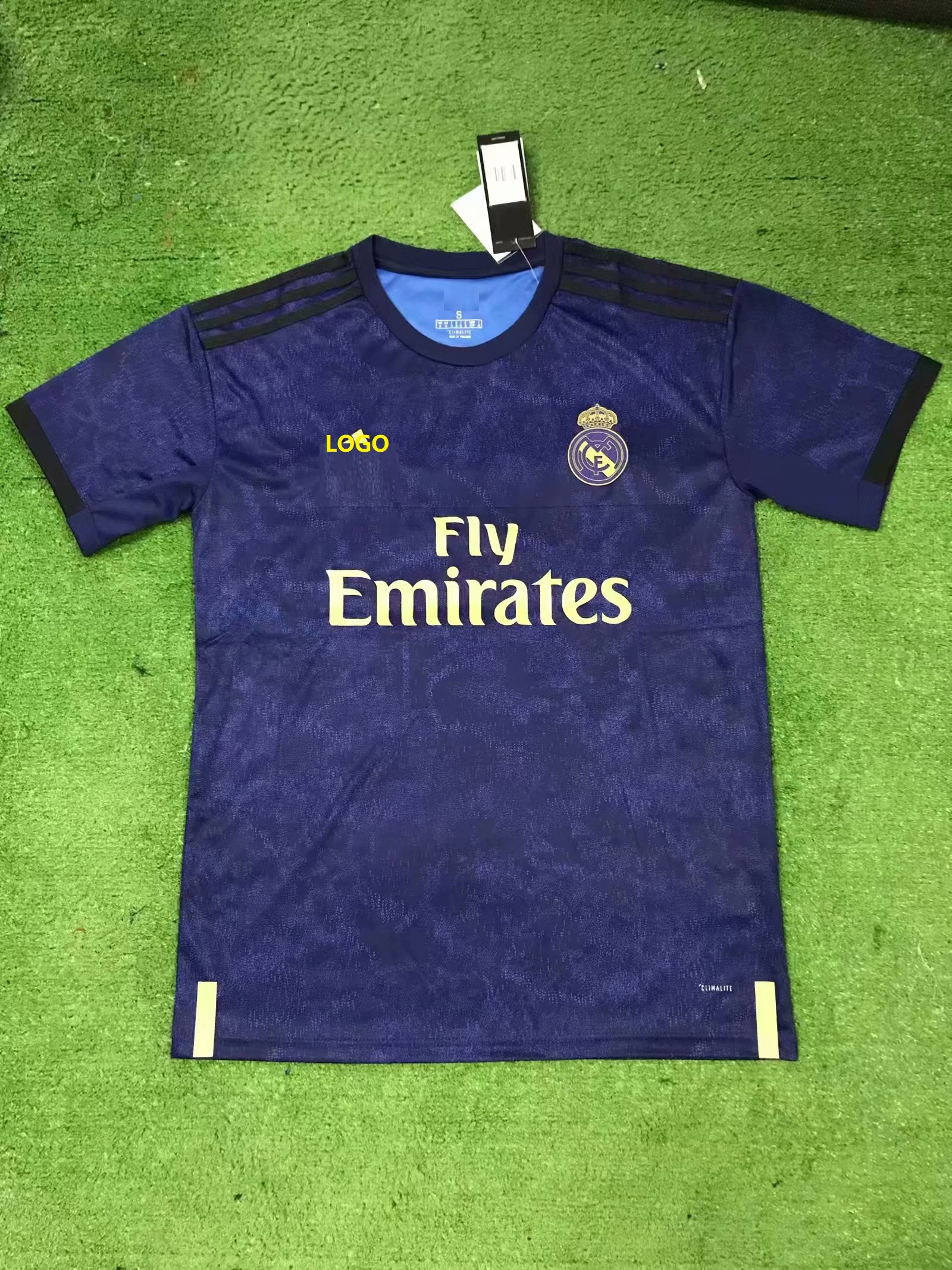 reputable site 7fcbd 51c53 2019/20 Adult real madrid away jersey Thai version Football clothes