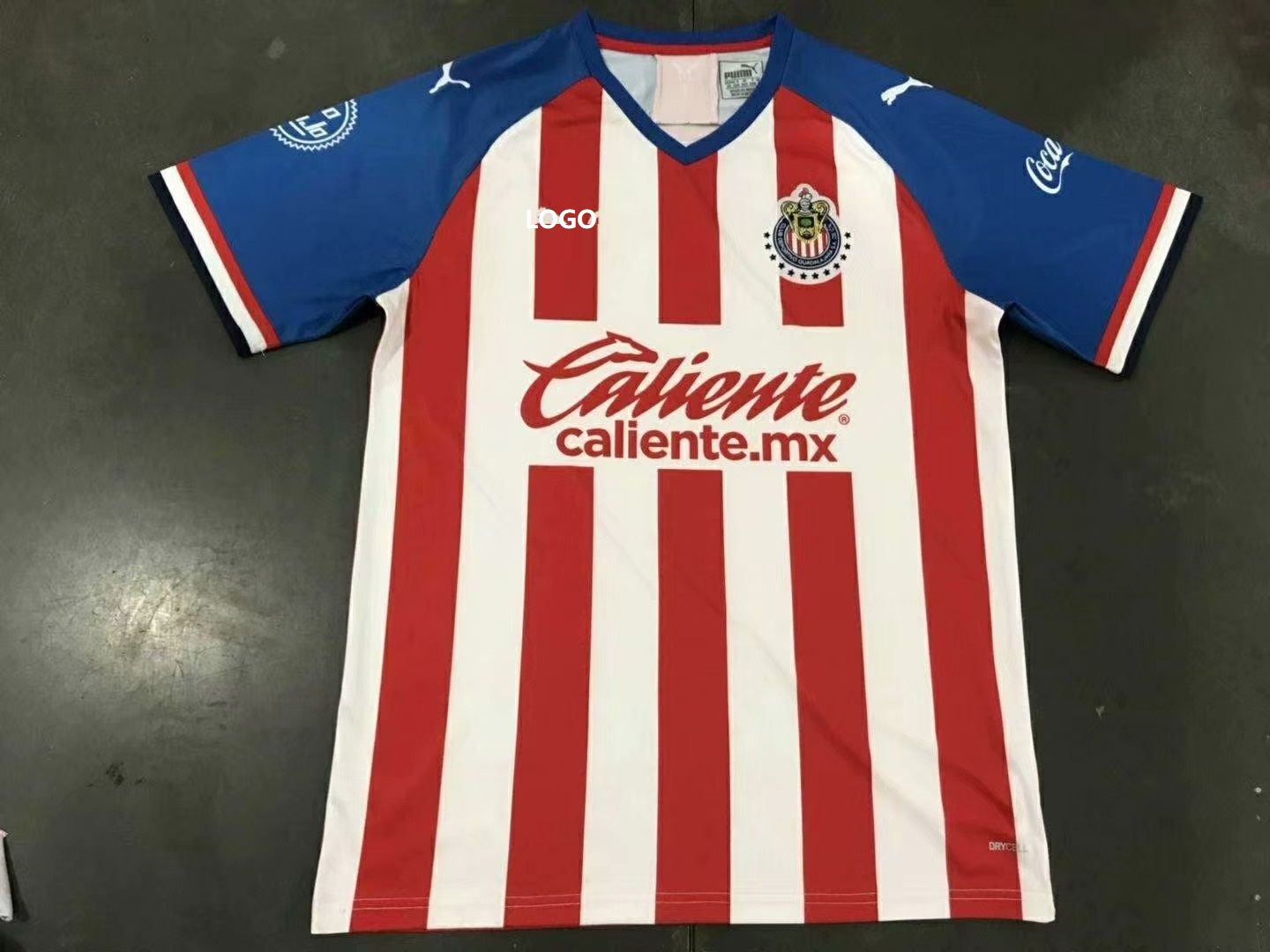 9ca89a7b9 2019 20 chivas Home Red Soccer Jersey -Thai Quality Football Shirt Custom  Name And Number