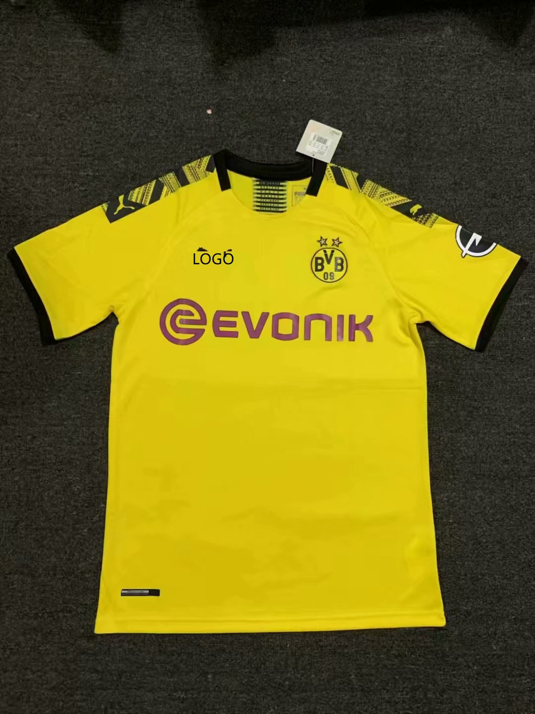buy popular 87903 1860c 2019/20 Men Borussia Dortmund home yellow Thai version Soccer jersey