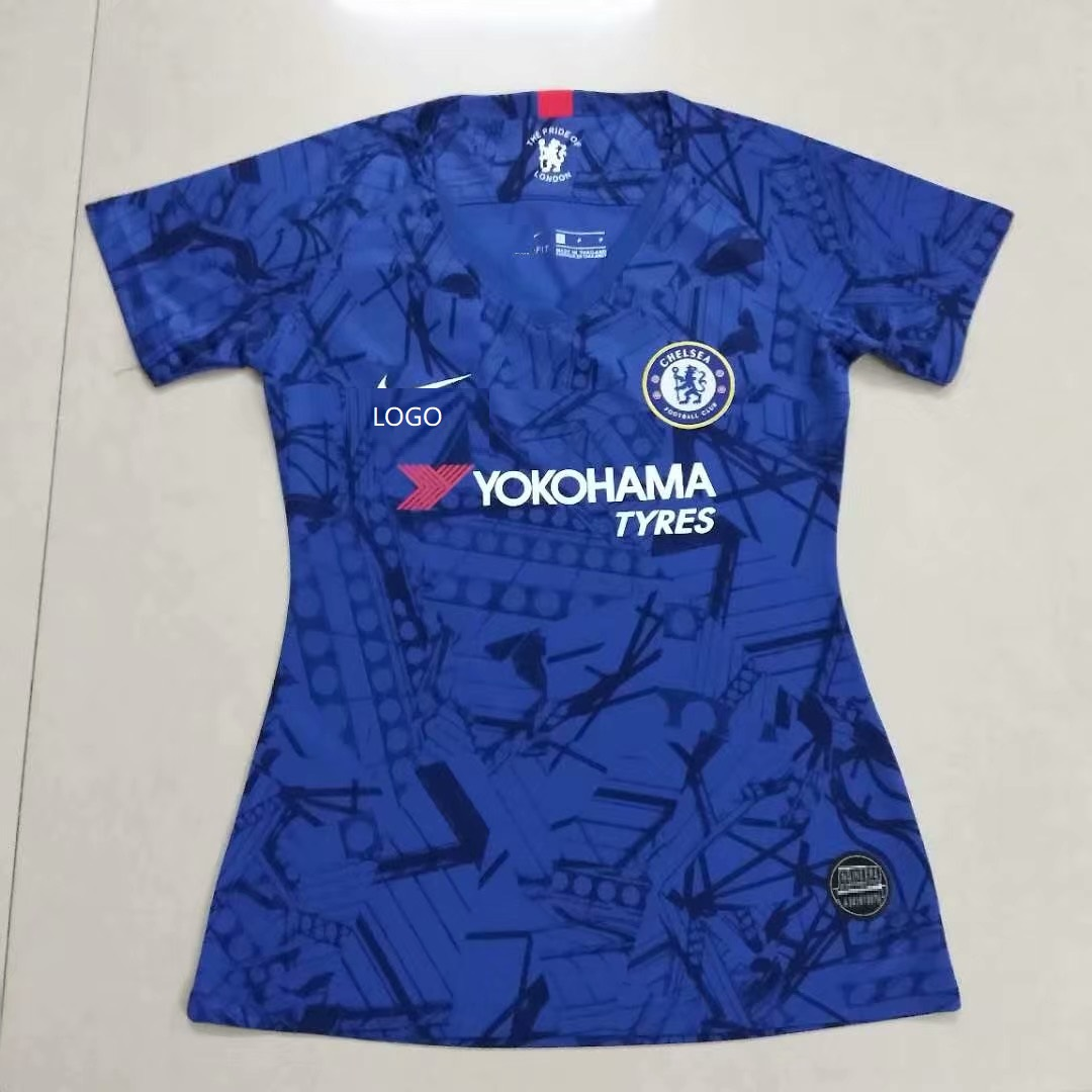 af325b0e265 2019/20 Women chelsea thai version Soccer Jersey customize name number