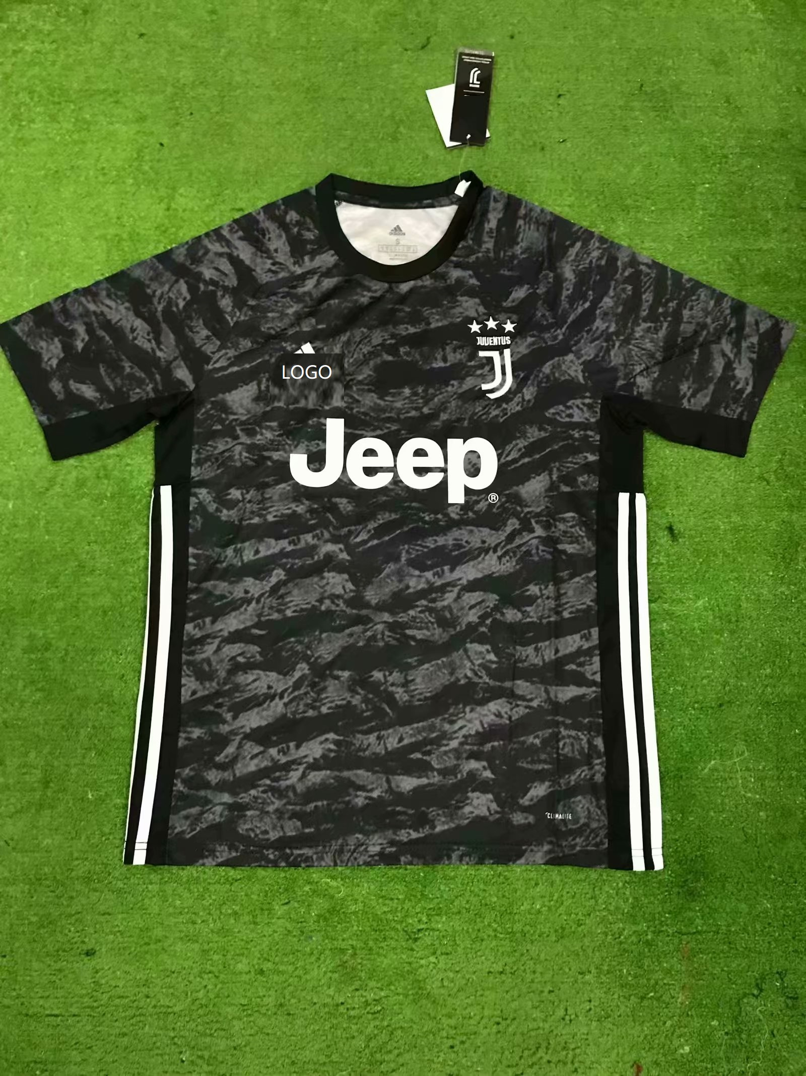 separation shoes 13359 49764 19-20 Men juventus Goalkeeper Fan version Soccer jersey
