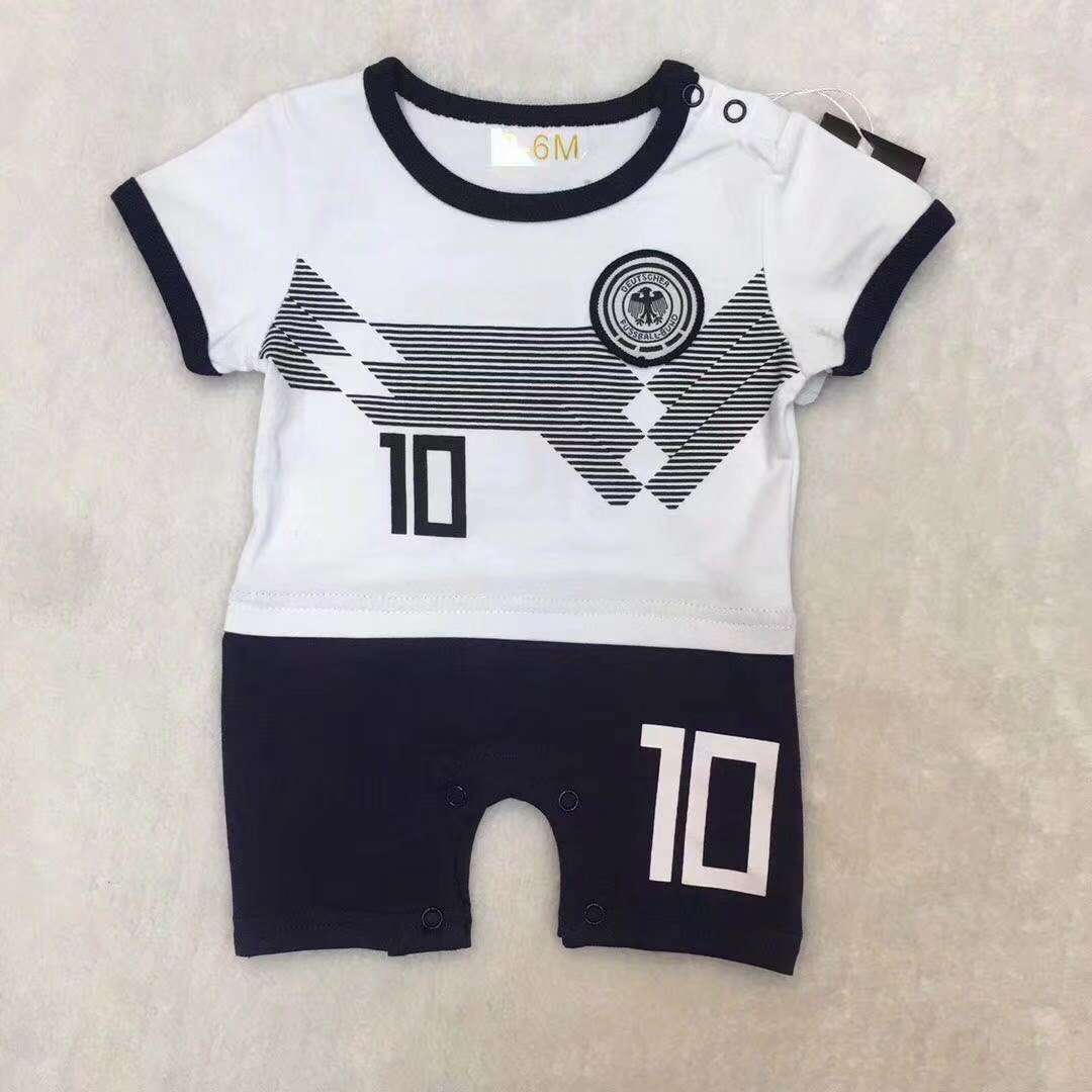 03eb15bad61 2019/20 kid Germany Soccer baby romper customize name number